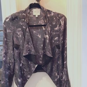 Silence and Noise Urban Outfitters Silk jacket